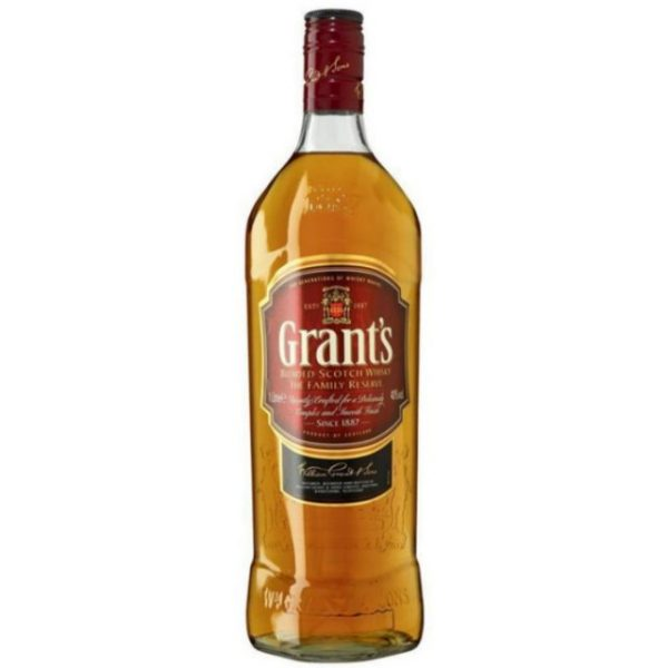 Grants whiskey is good reason to go out, but now it's a better reason to stay in.