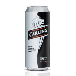 Beers 247 Manchester UK Carling Can Lager Beer